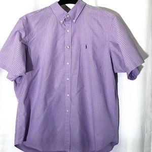 Ralph Lauren Polo Button Down Shirt - Purple